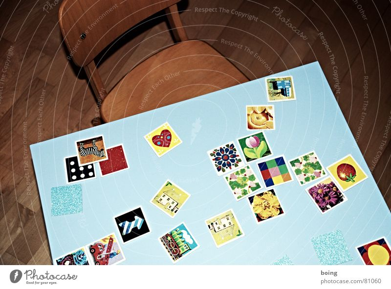 Joy Playing Success Table Chair Education Search Division Memory Playing card Covered Children's game Remember Distribute Printing Mount up