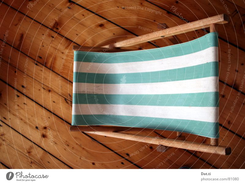 Vacation & Travel Green Summer Relaxation Loneliness Flat (apartment) Leisure and hobbies Living or residing Stripe Furniture Sunbathing Living room Striped