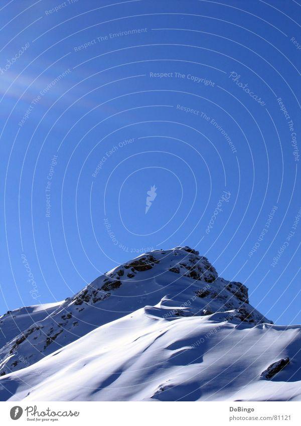 Sky Sun Blue Winter Clouds Snow Mountain Stone Tall Switzerland Clarity Alps Beautiful weather Sugar Cover Powder