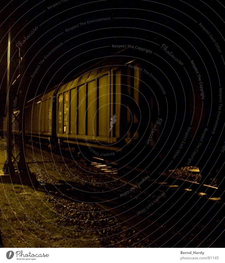 Fear Transport Railroad Logistics Railroad tracks Panic Gravel Goods Railroad car Freight car