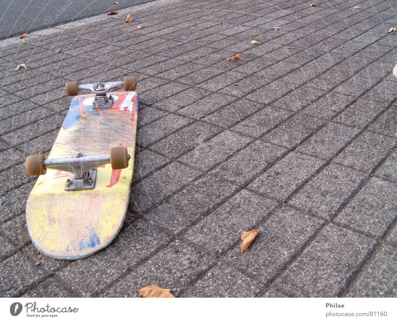 skateboard Asphalt Skateboarding Sports Playing Lie fun Parking level