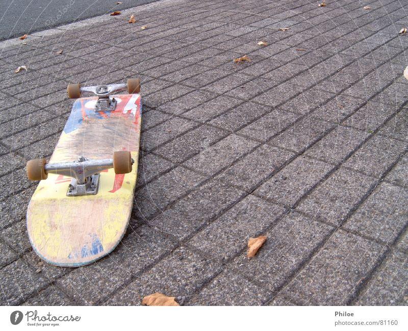 Sports Playing Lie Asphalt Skateboarding Parking level