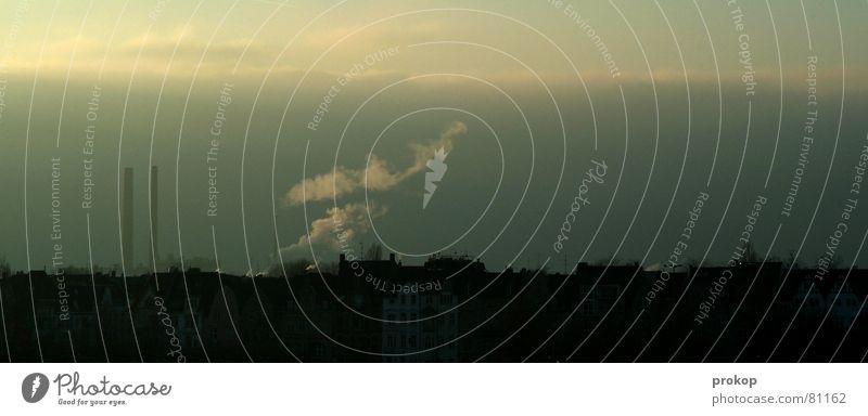 Sky Nature City Landscape Clouds Dark Environment Sadness Gray Horizon Dirty Tall Industry Smoke Skyline Fragrance