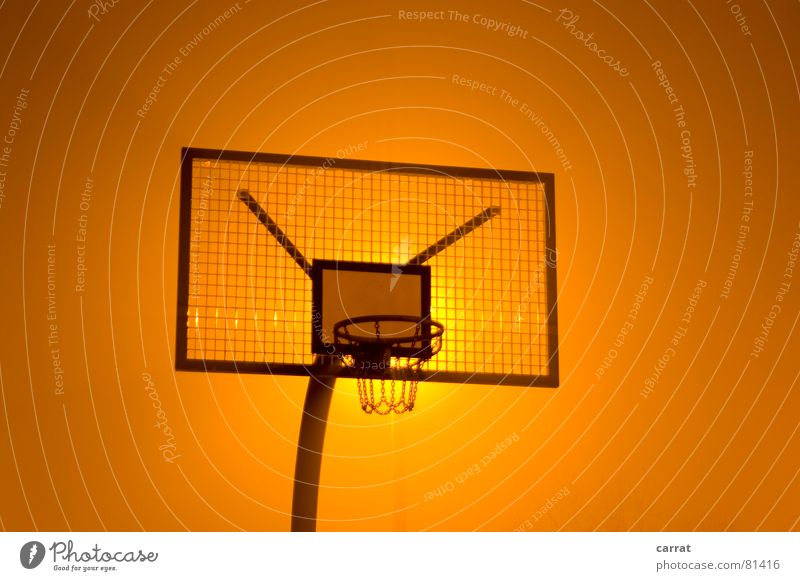 Red Colour Yellow Dark Sports Playing Metal Moody Tall Large Round Target Ball Silver Basket Basketball