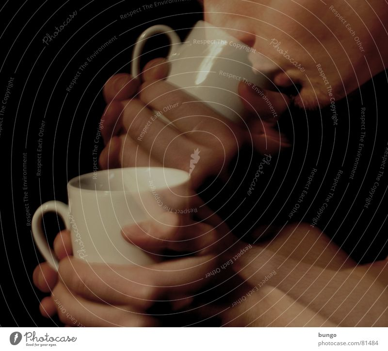 3...2...1...Mine! Cup Hand Fingers Noble Drinking Anticipation Caffeine Alert Thumb Wake up China Hot Physics Joy Beverage Heat Long exposure Action Man Face
