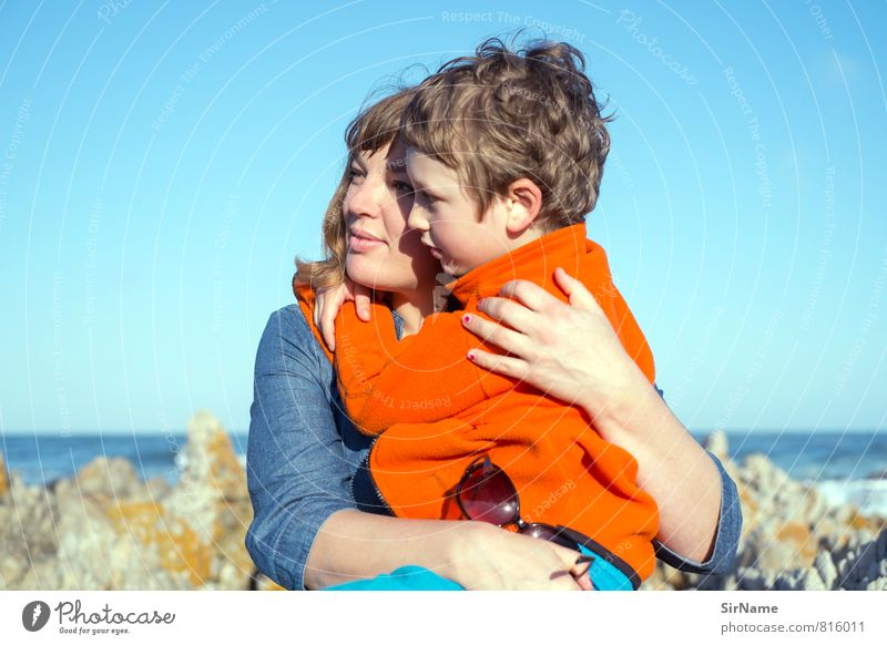 Human being Child Vacation & Travel Sun Ocean Far-off places Adults Life Love Coast Boy (child) Happy Together Family & Relations Lifestyle Infancy