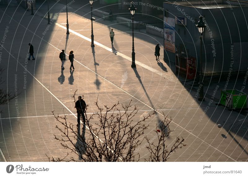 Human being City Sun Loneliness Calm Sadness Autumn Think Places Living thing Traffic infrastructure Paris France Motionless Autumnal Train station