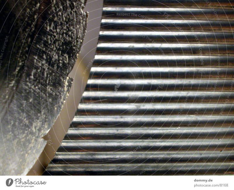 hot stuff 1 Aluminium Furrow Macro (Extreme close-up) Close-up bread machines Window pane Knives