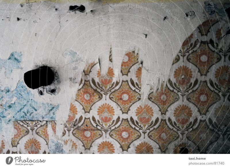 Wall (building) Poverty Grief Transience Wallpaper Distress Seventies