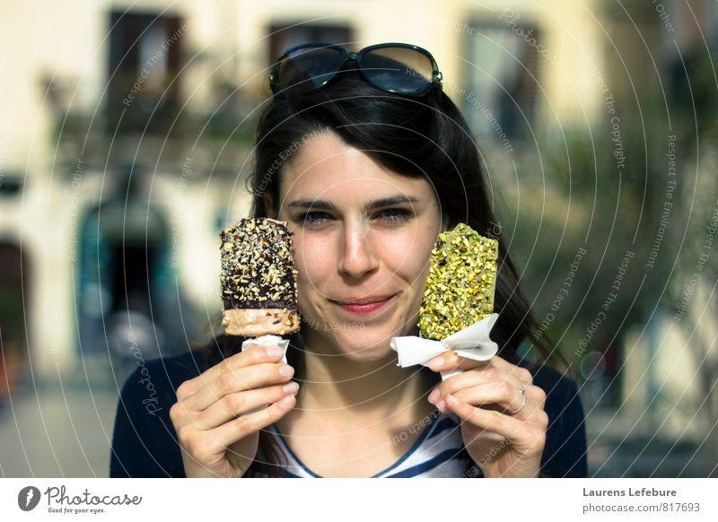 Italian icecream Green Joy Eroticism Happy Happiness To enjoy Ice cream Shopping Chocolate Diet Pistachio
