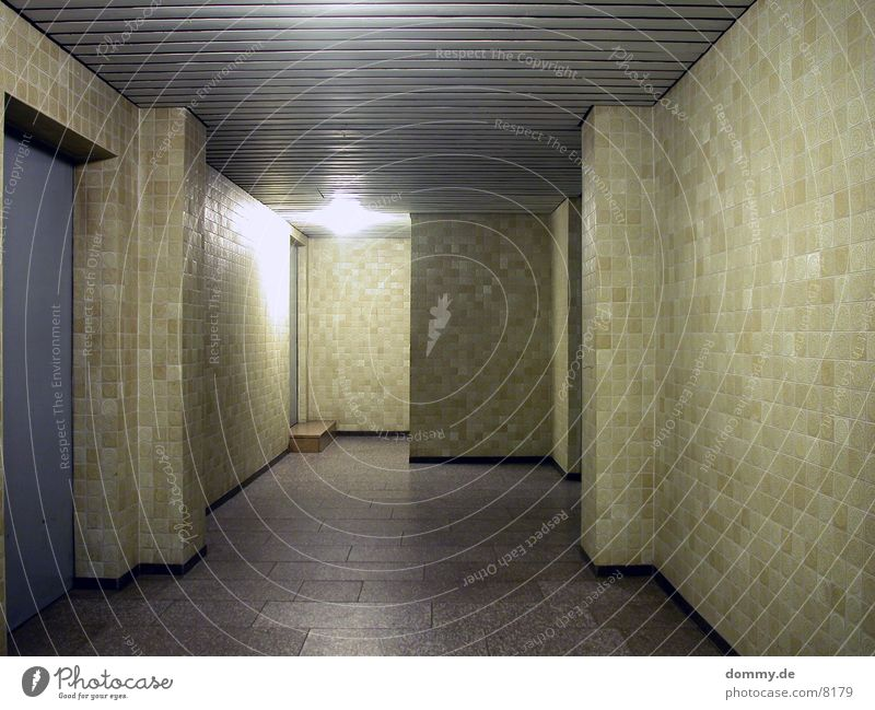 Swimming pool Tile Hallway
