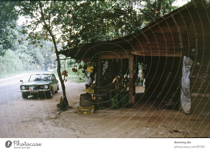 Old House (Residential Structure) Car Fruit Stand Hut