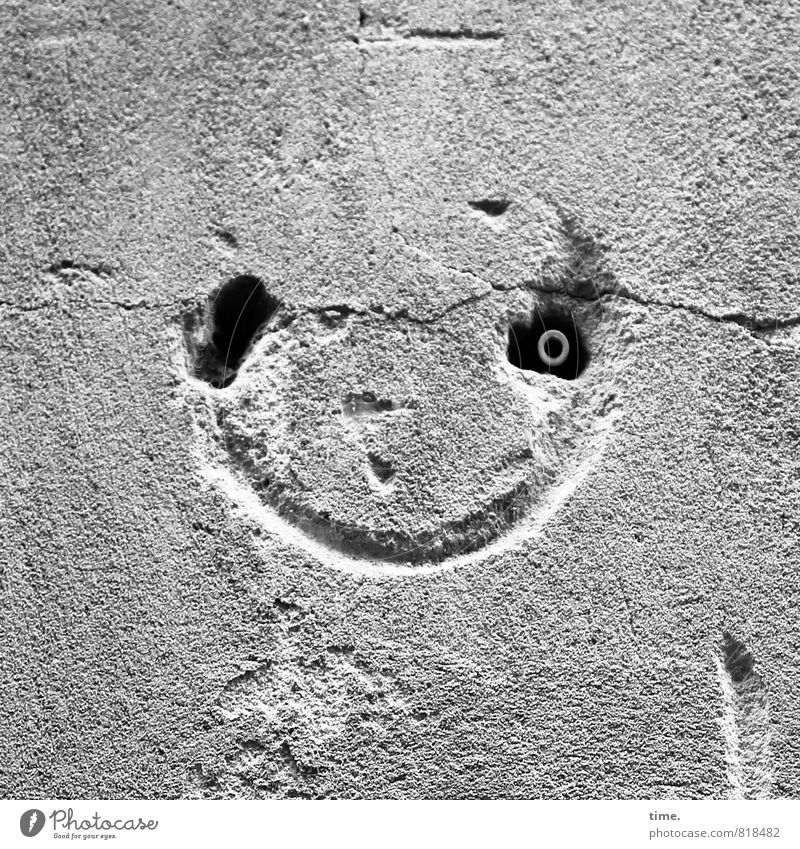 Old City Joy Face Eyes Wall (building) Wall (barrier) Laughter Time Stone Line Happiness Creativity Broken Joie de vivre (Vitality) Idea