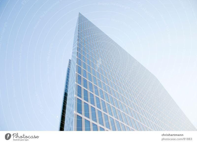 skyscraper Munich Modern Window pane Reflection bridges Glass Blue Sky highlight towers architecture