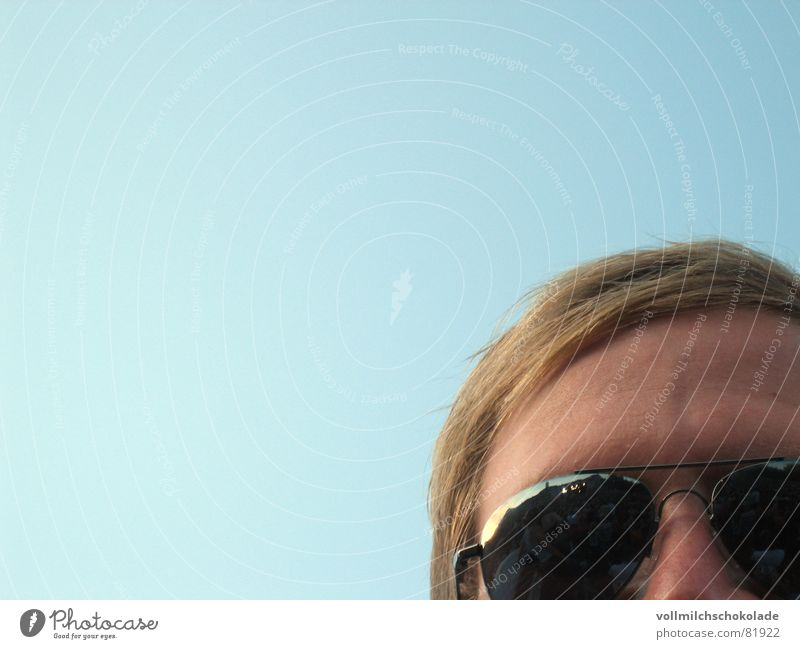 hackface Aviator goggles Nasal discharge Captain Beautiful weather Blonde Pilot Sunglasses Concert Reflection Jug ears Mirror Clouds Porno glasses Man can mett