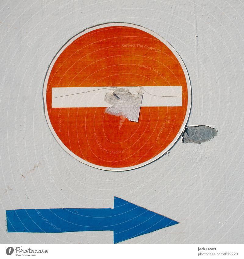 267 & diversion Design Street art Traffic infrastructure Lanes & trails Prohibition sign Diversion Arrow Pictogram Disciplined Orderliness Idea Creativity