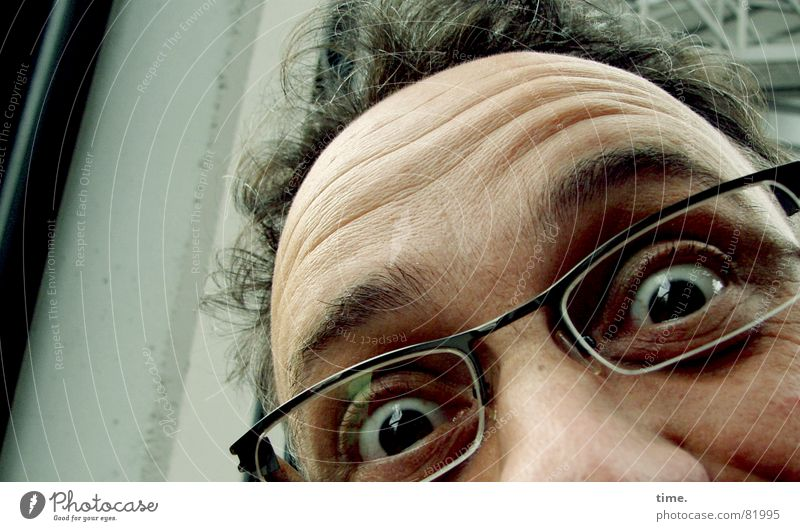 Man Joy Face Eyes Happy Funny Adults Glass Nose Horizon Perspective Happiness Eyeglasses Vantage point Education Friendliness
