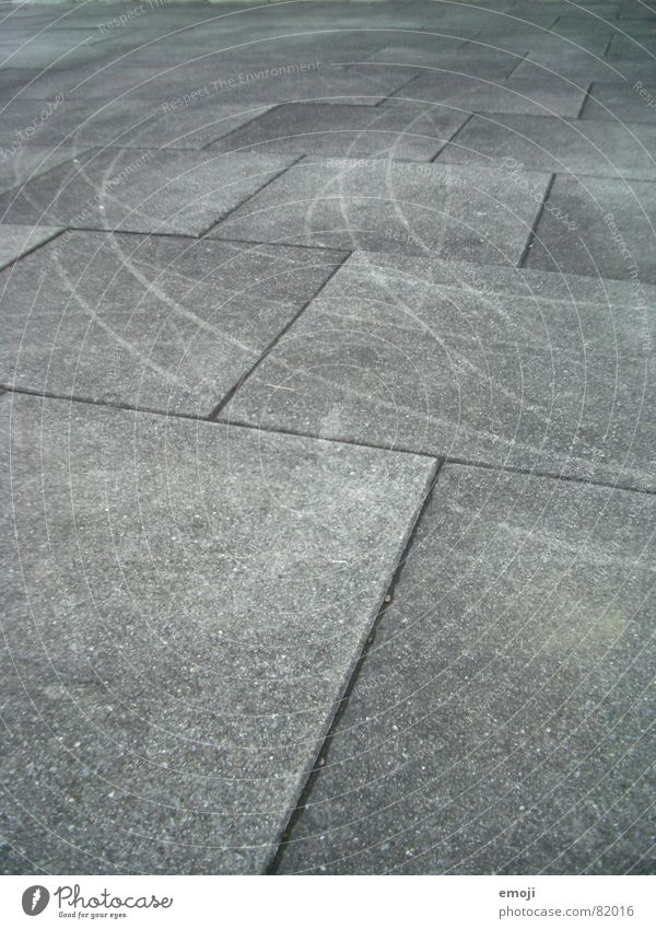 scratch marks Gray Scratch Corner Rectangle Claw mark Paving tiles Scratch mark Tracks Sharp-edged Graphic Black White Stone Minerals Black & white photo strip