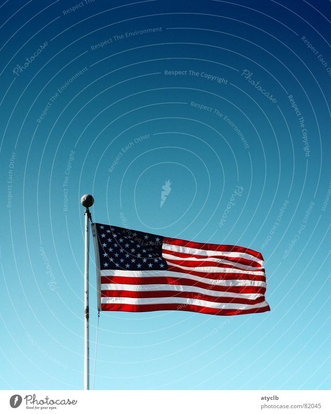 Sky Stripe USA Flag Americas American Flag California Firmament San Francisco