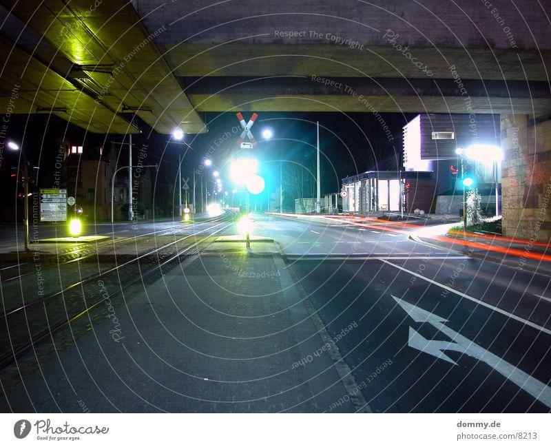 bus stop Tram Long exposure Night Dark Station straba