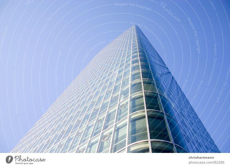 Sky Blue Glass Facade High-rise Modern New Munich Window pane