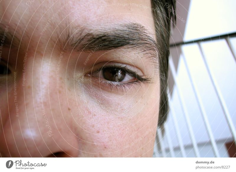 flaw Man Eyes Thomas Stairs Handrail Fatigue