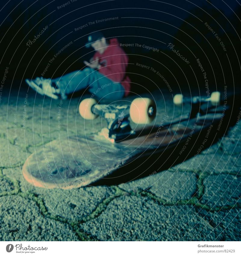 The ground of facts Moody Skateboarding Square Flair Ambient Extreme sports after slam Floor covering Pain To fall