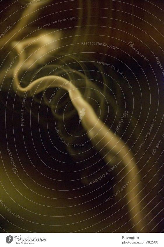 Beautiful Green Emotions Movement Time Circle Smoke Concentrate Transparent Spiral Haze Impulse Translucent Smoke signal