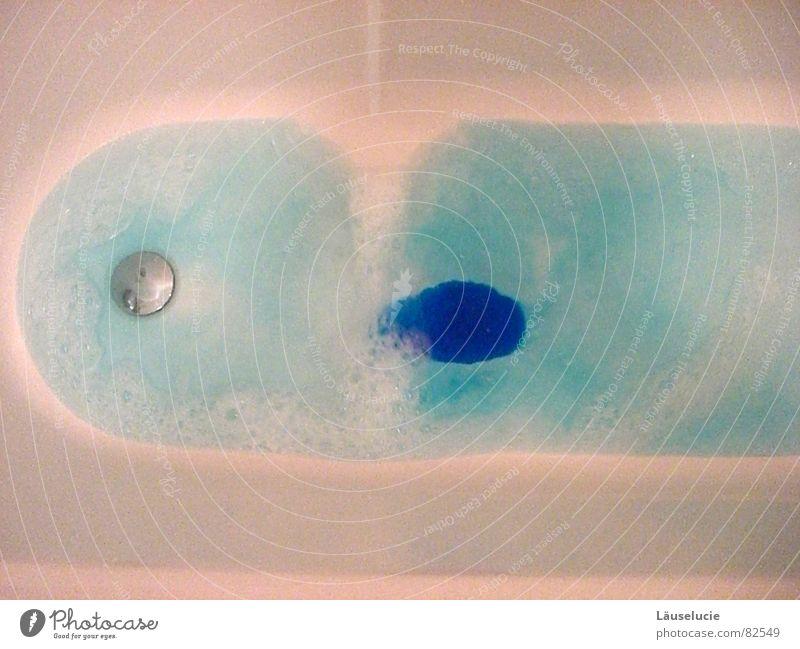 Blue Water White Bathtub Hot Foam Captain Bubble bath