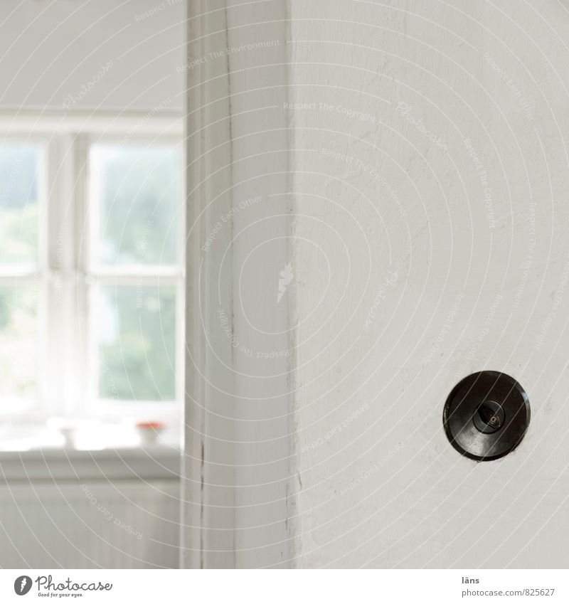 find the shoot Living or residing Flat (apartment) Room Old Simple Bright Light switch Rotary switch Window Wall (building) White Deserted Copy Space right