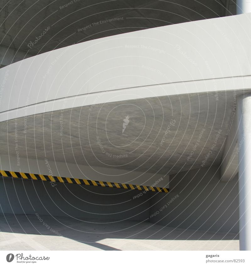 Architecture Concrete Crazy Spiral Parking garage Abstract Ramp Expressway exit Formal