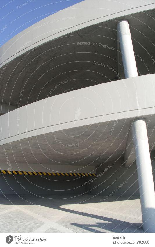 Architecture Concrete Crazy Spiral Parking garage Ramp Expressway exit Formal