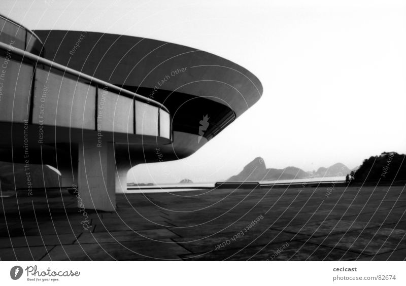 Niemayer's inspiration Rio de Janeiro Brazil Planning The fifties Tension Modern nobody curves landscape perspective space architecture Inspiration imagination