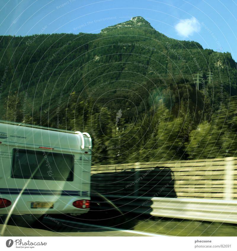 Summer Vacation & Travel Street Mountain Transport Highway Caravan Followers