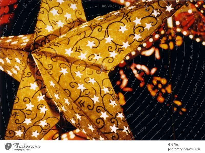 Christmas & Advent Winter Yellow Light Lighting Feasts & Celebrations Star (Symbol) Decoration Markets Christmas Fair Flare