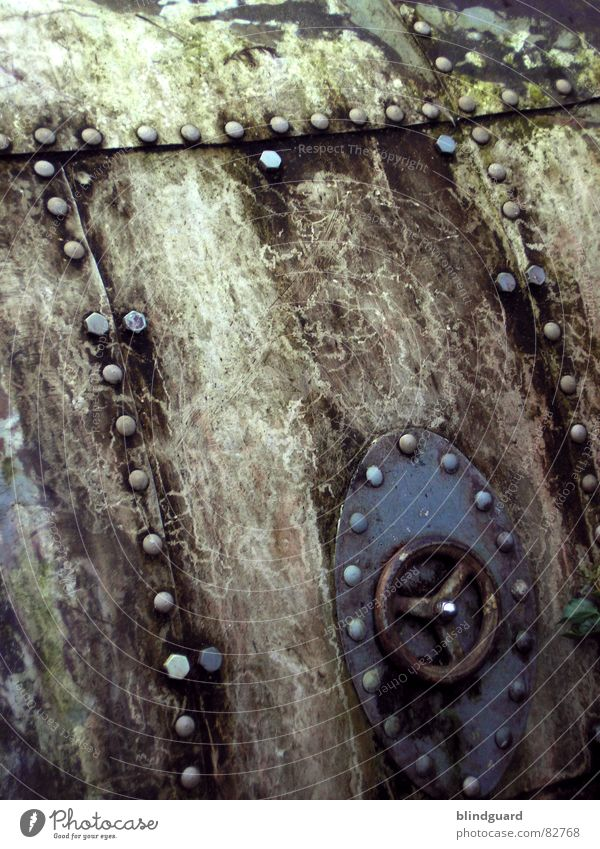 Old Weather Dirty Background picture Industry Derelict Steel Shabby Iron Screw Rivet Hatch Submarine Crank
