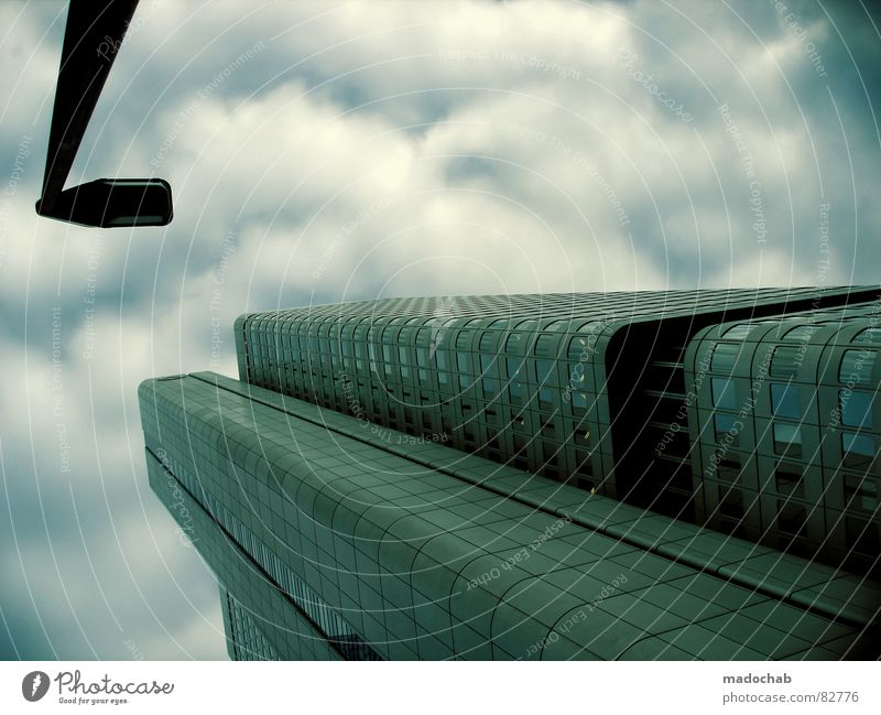Sky City Blue Clouds House (Residential Structure) Window Life Architecture Building Freedom Flying Business Above Work and employment Flat (apartment) Design