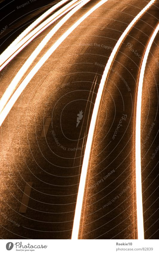 Strangers in the night Long exposure Night Swing Speed Strip of light almost Street