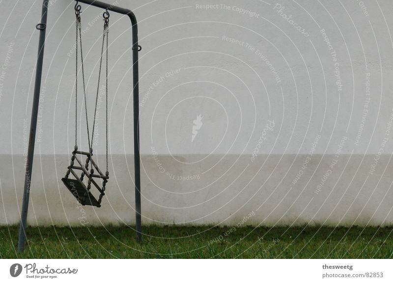 swing Regrettable Needy Disaster Pain Swing Toys Playing Grief Desolate Sordid Earnest Broken Negative Gloomy Dreary Dark Accident Death Cot death Shabby