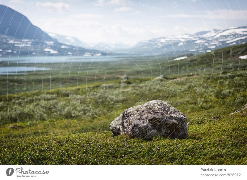 Mountain landscape in northern Sweden Relaxation Vacation & Travel Tourism Trip Adventure Far-off places Freedom Camping Environment Nature Landscape Elements