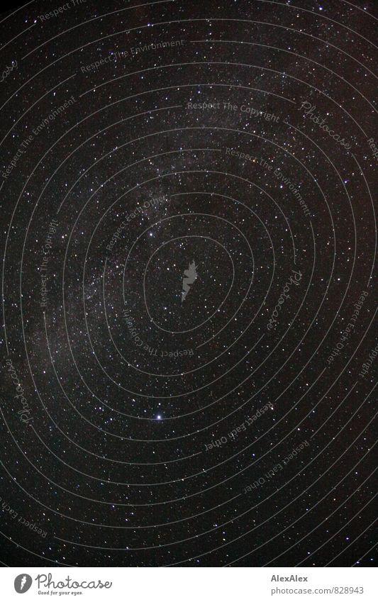 Sky Nature White Far-off places Black Moody Horizon Illuminate Esthetic Large Stars Eternity Universe Starry sky Galaxy Night