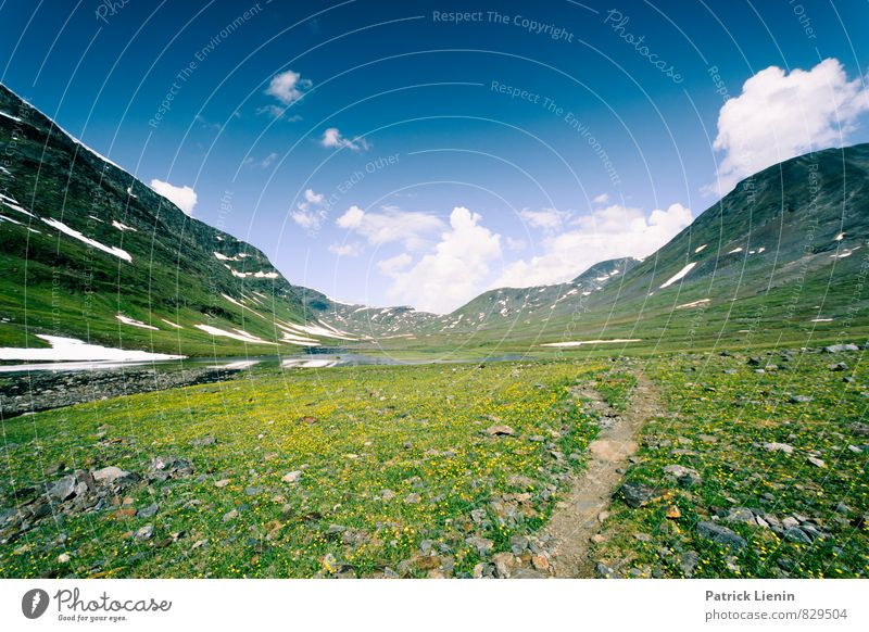 into the great wide open Senses Relaxation Calm Meditation Leisure and hobbies Trip Adventure Far-off places Freedom Snow Mountain Hiking Environment Nature