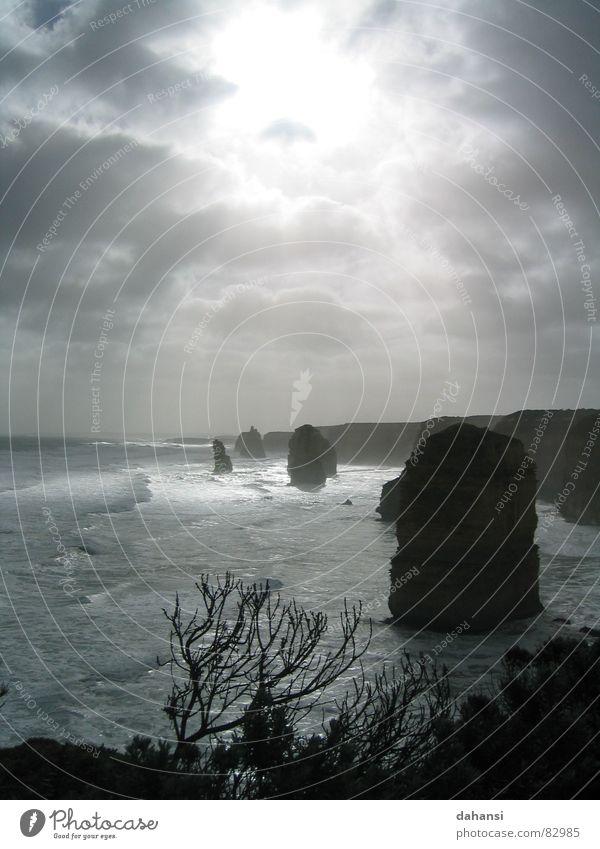 Old Sun Ocean Beach Freedom Gray Coast Rock Hope Grief Australia Cliff Humble Part Flare