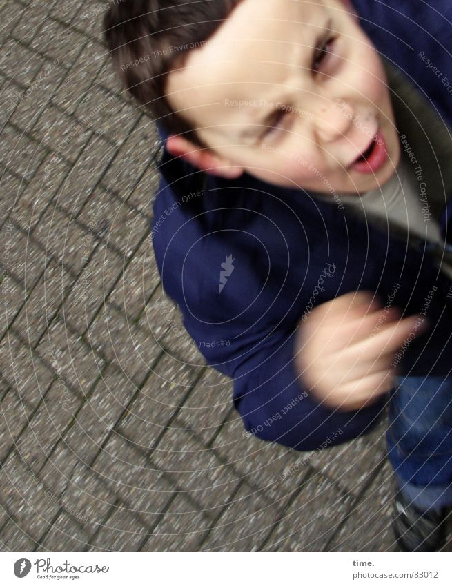 Opinion maker (dynamic style) Portrait photograph Face Flirt Science & Research Child Energy industry Boy (child) Eyes Street Movement Communicate Scream Anger