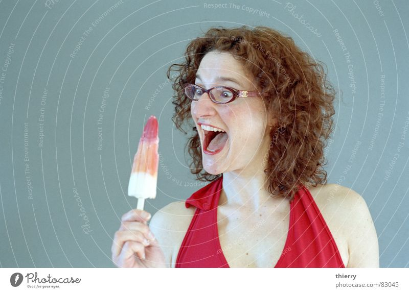 dead ice standing Express train Summer Joy icecream enthousiasm glasses rocket cold hot curls happy