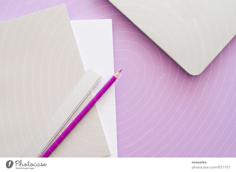 Purple office 3 Lifestyle Style Design Education Professional training Internship Study Work and employment Office work Workplace Career Stationery Paper