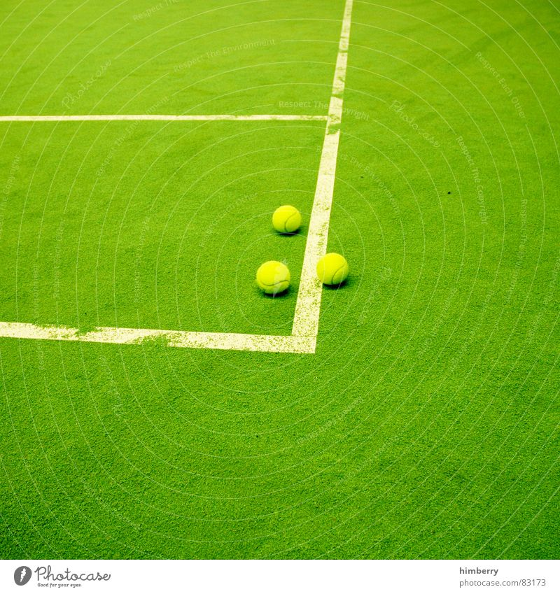 matchballs III Tennis court Sports Green Places Sporting grounds Line Sports club Playing field Green space Playground Joy Leisure and hobbies Sportsperson
