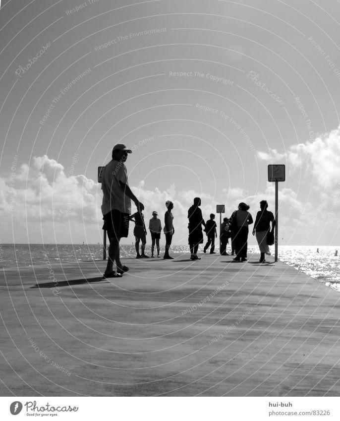 vantage point Ocean Vacation & Travel Footbridge Hotel Tourist Places Group Human being Walking Looking Vantage point Freedom Trip Village Shadow