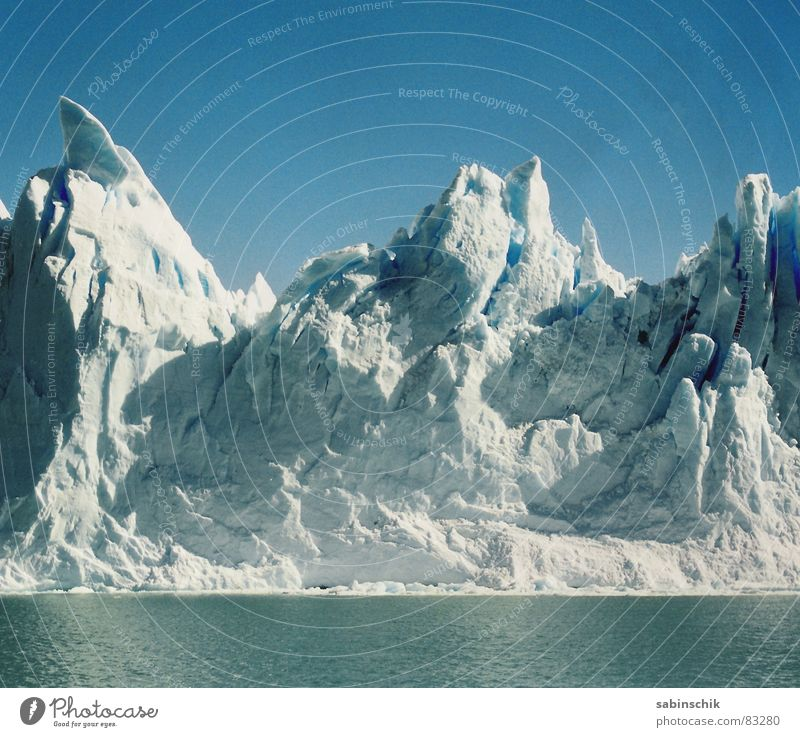 Nature Blue Cold Ice Power Environment Fresh Might Frost Clean Pure Clarity Force Glacier Argentina South America