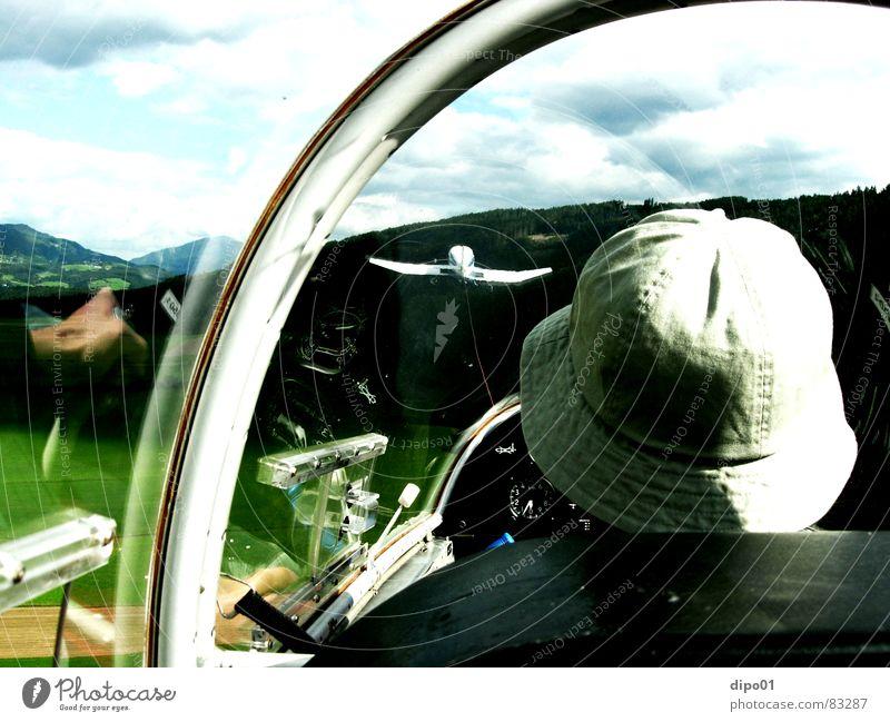 Sky Tree Clouds Mountain Grass Aviation King Airfield Cockpit Gliding Blaník